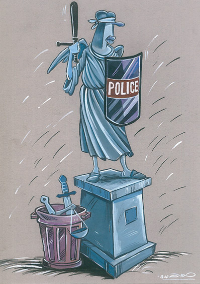 Hamid Soufi - Cartoonist