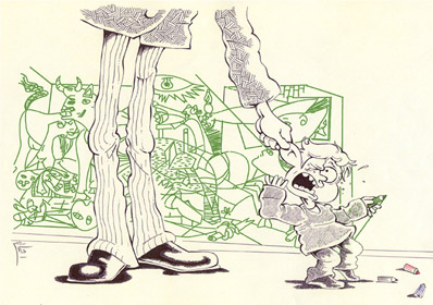 Kiyarash Zandi - Cartoonist