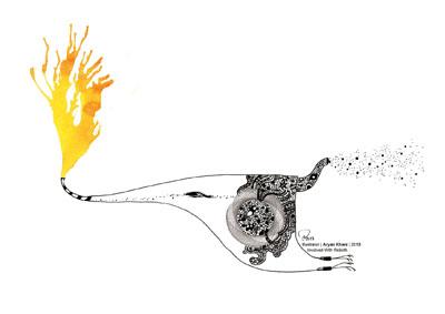 arian khani - illustration