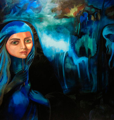elmira shokrpour - painter