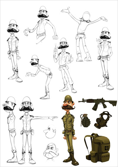 Seyyed Hussein Ojaghi character designer