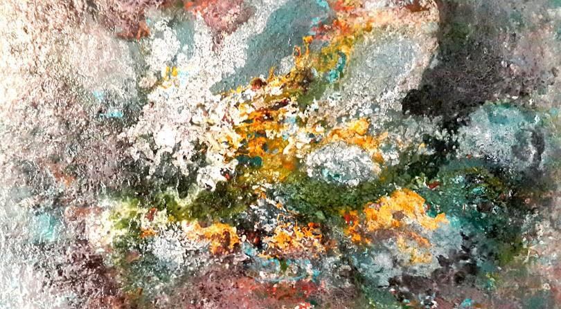 Leila Gholobi - Painting