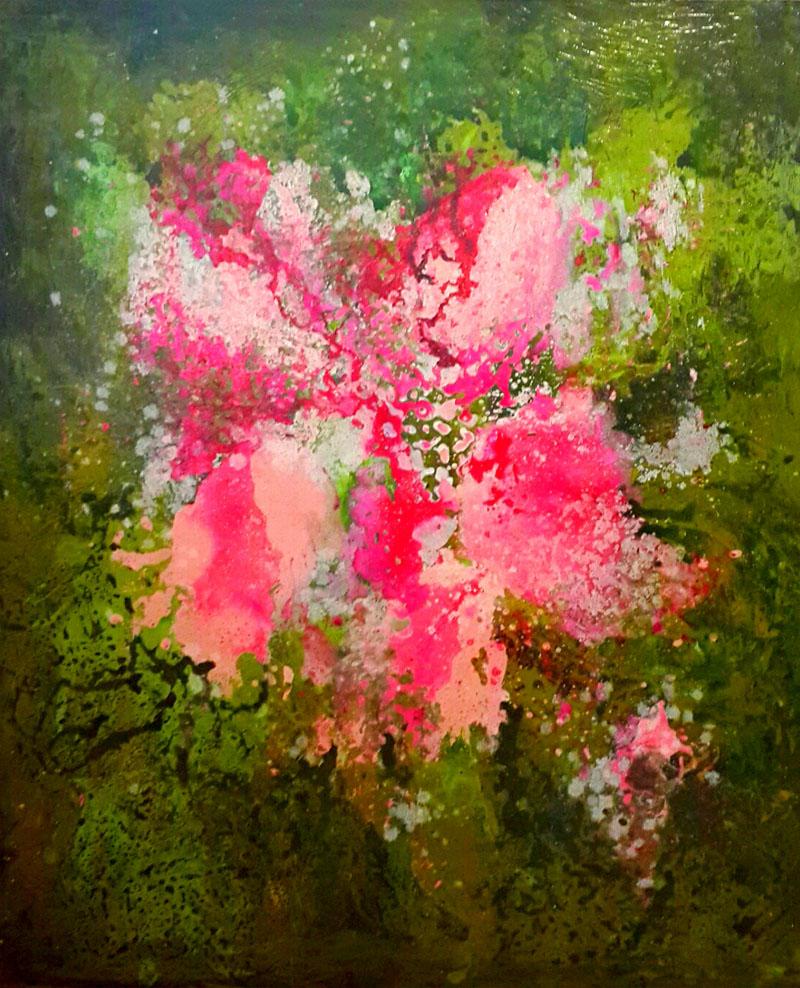 Leila Gholoubi - painter