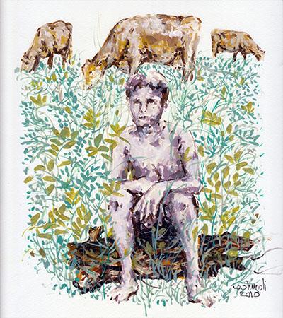 Jalaledin Mashmouli - painter