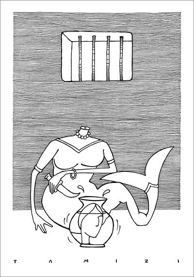 Mehdi Tamizi - Cartoonist