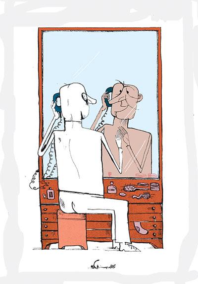 Hamed Bazrafkan cartoonist