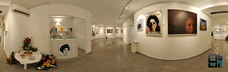 گالری ویستا هنر و گردش مجازی در نمایشگاه از اهالی امروز فروغ فرخزاد به کیوریتوری آرش تنهایی