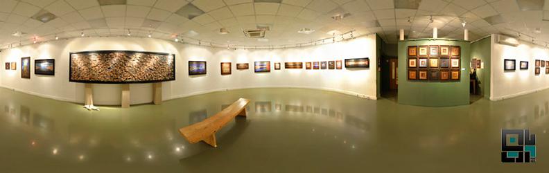 خانه هنرمندان ایران و گردش مجازی نمایشگاه سکوت پرواز بابک گرمچی