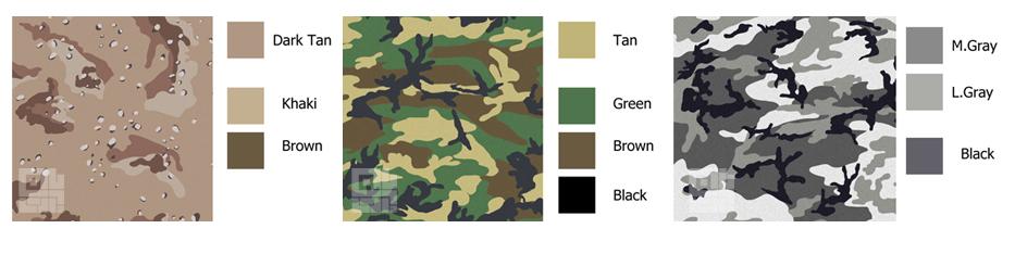 نقش رنگ در استتار و نبردهای نظامی
