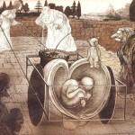 رالف استدمن کارتونیست بریتانیایی