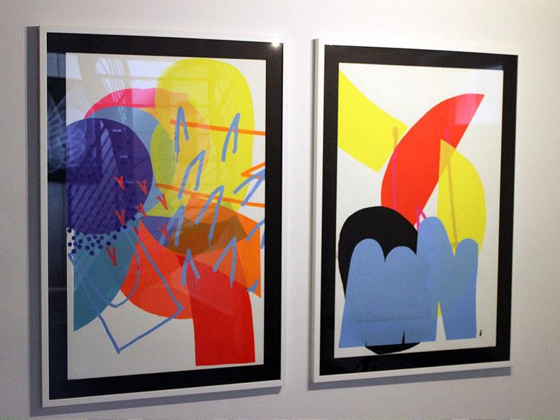 هنر آبسترکت در گالری بی.سی