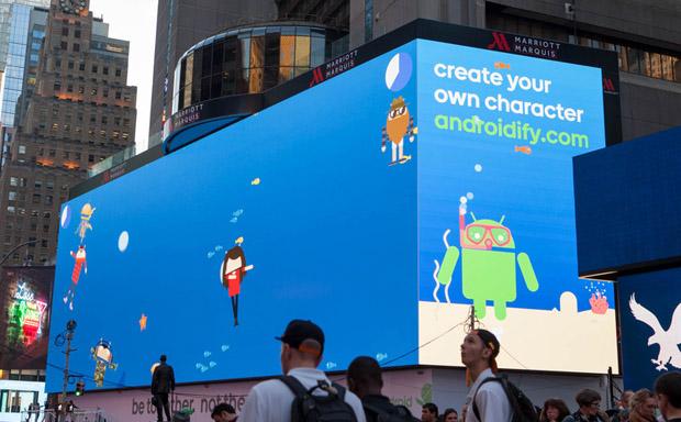 بزرگترین بیلبورد دیجیتالی جهان در اختیار گوگل