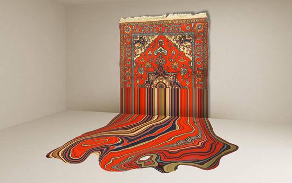 فرشهای احمد فیگ در مرکز هنر معاصر یارات آذربایجان