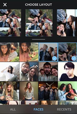 اینستاگرام و عرضه اپلیکیشن جدید کولاژ تصاویر