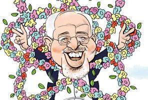 دسته گل هستهای ظریف از دید هنرمندان ایران