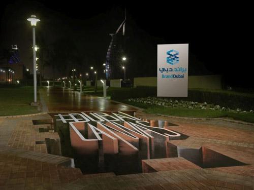 فستیوال هنر سه بعدی دبی و برنامه ریزی برای تبدیل شهر به موزه هنری روباز