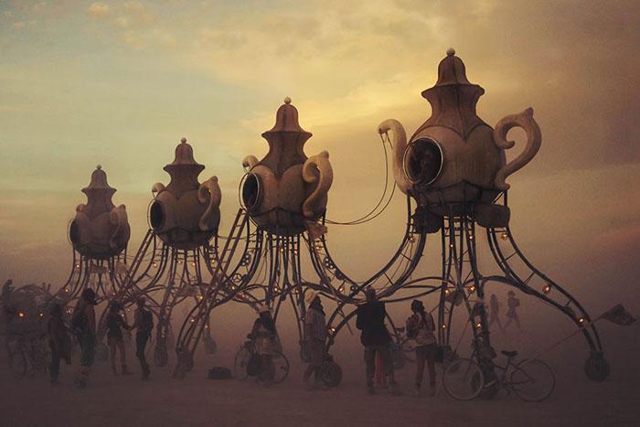 مرد سوزان خاص ترین فستیوال هنری جهان