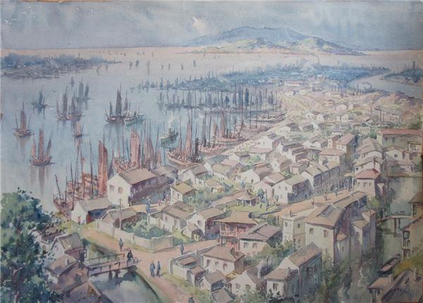 نمایشگاه عصر پیشرفت در موزه ملی هنر چین