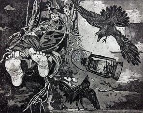 نمایشگاه چاپ دستی در موزه هنرهای معاصر اهواز
