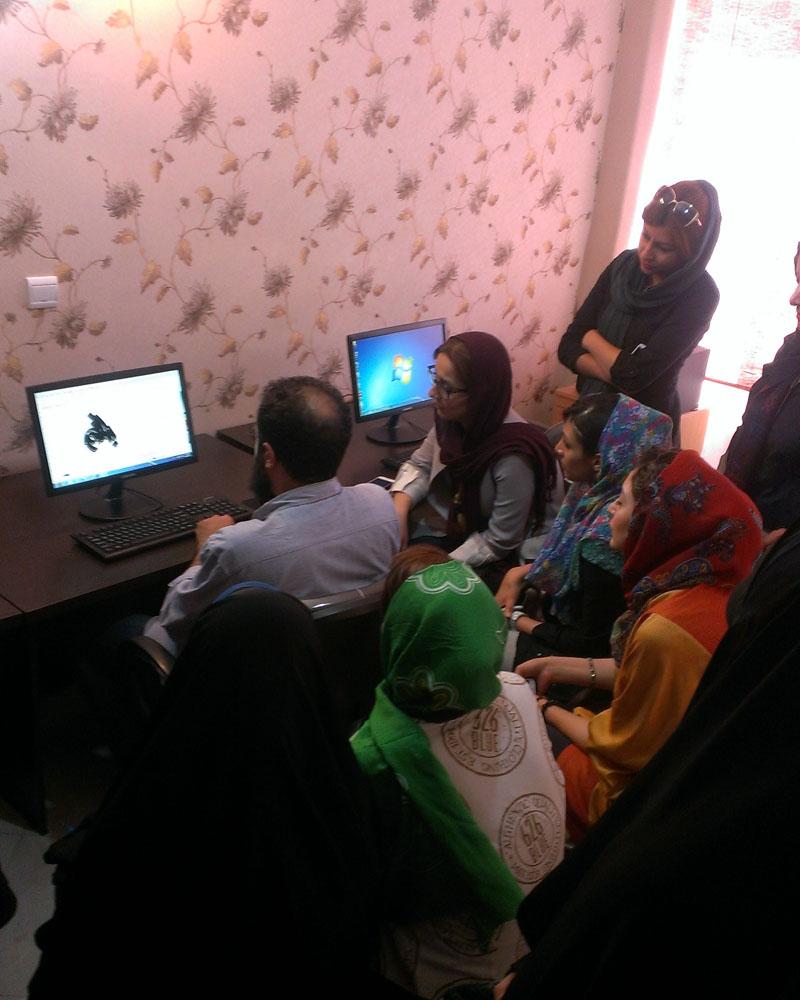 برگزاری کلاسهای نیمه خصوصی پروژه محور آموزش ایندیزاین