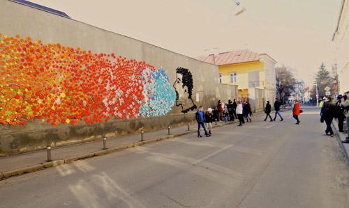 اوریگامی و جنبش بدون خشونت در رومانی