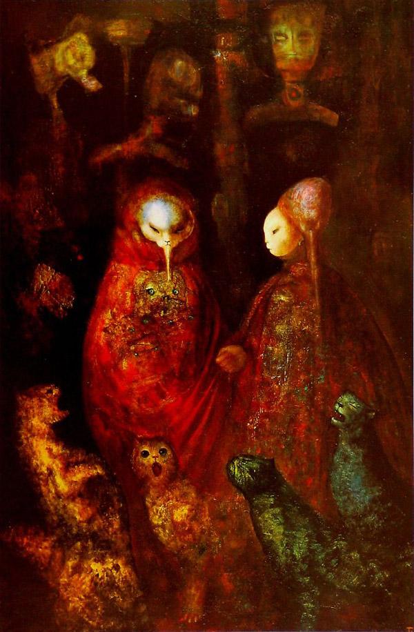 لونور فینی - فیگوراتیو های رئالیست - اکسپرسیونیسم در آثار هنرمندان
