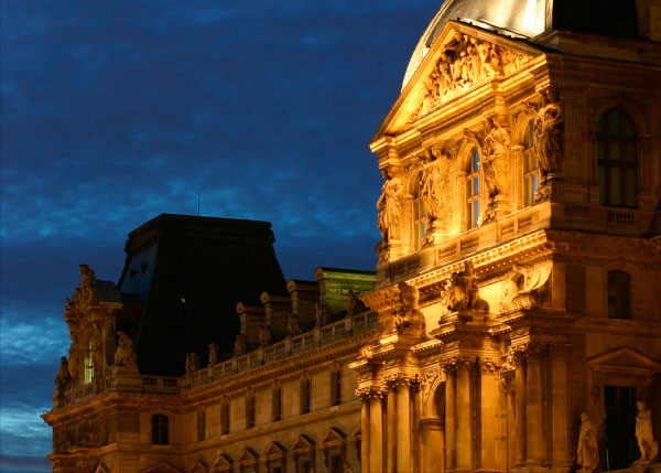 موزه لوور فرانسه ، استفاده به عنوان یک دژ تا مکانی تاریخی