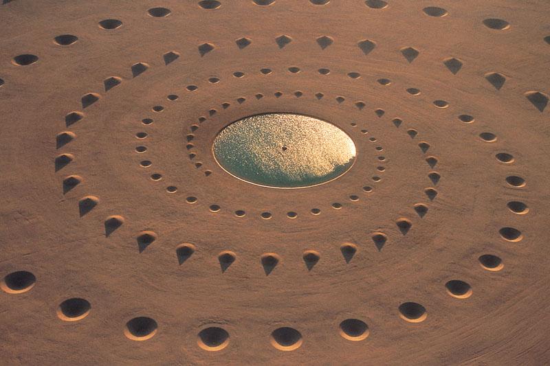 نفس بیابان ؛ میل درونی به خلق هنر در بیابان - پان آرت