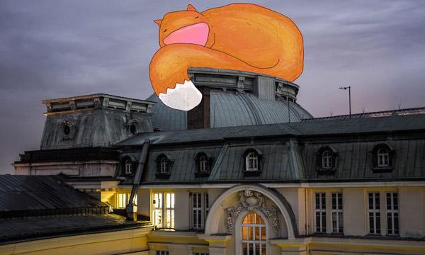 هیولاهای کارتونی در بلغارستان