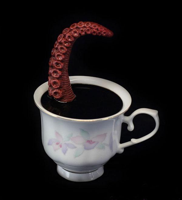 هیولا های پالمر در فنجان چای - پان آرت