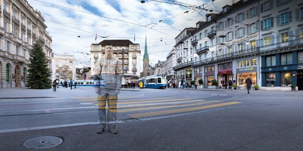 کمپین تبلیغاتی شرکت حمل و نقل عمومی زوریخ