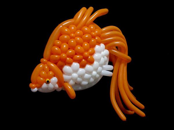 مجسمه حیوانات بالونی از یک هنرمند ژاپنی | پان آرت
