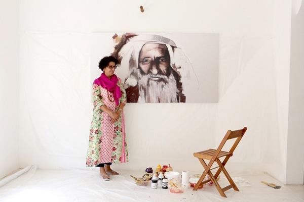 نمایش آثار هنرمندان در ابوظبی