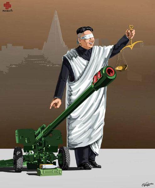 کره شمالی - حقوق بشر در نگاه طنز گوندوز آقایف