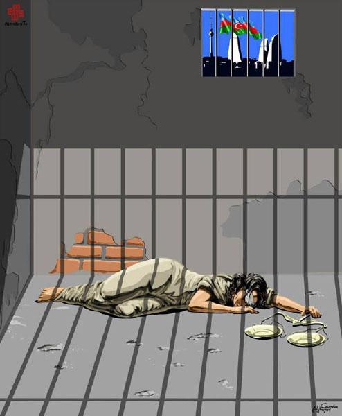 آذربایجان - حقوق بشر در نگاه طنز گوندوز آقایف