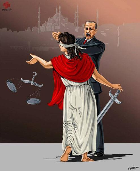 ترکیه - حقوق بشر در نگاه طنز گوندوز آقایف