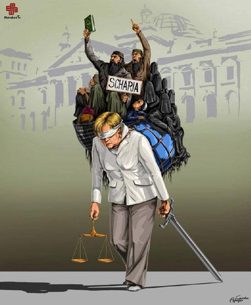 آلمان - حقوق بشر در نگاه طنز گوندوز آقایف