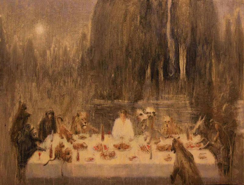 مرتضی خسروی - نمایشگاه چند روایت از یک انسان که با امواج ارس به دریا پیوست