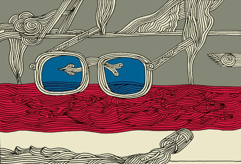 کیانوش غریب پور - نمایشگاه چند روایت از یک انسان که با امواج ارس به دریا پیوست