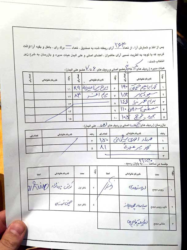 انتخابات انجمن صنفی گرافیک ایران
