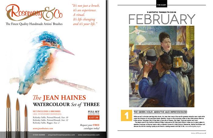 جدیدترین نسخه از مجله معتبر Artists & Illustrators