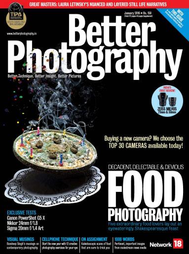 اولین نسخه سال نو میلادی از مجله عکاسی Better Photography