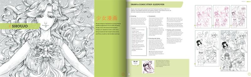 تکنیک طراحی تصاویر بصورت مانگا