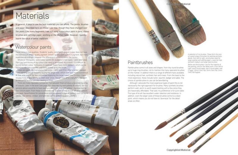 طراحی و نقاشی پرتره با آبرنگ