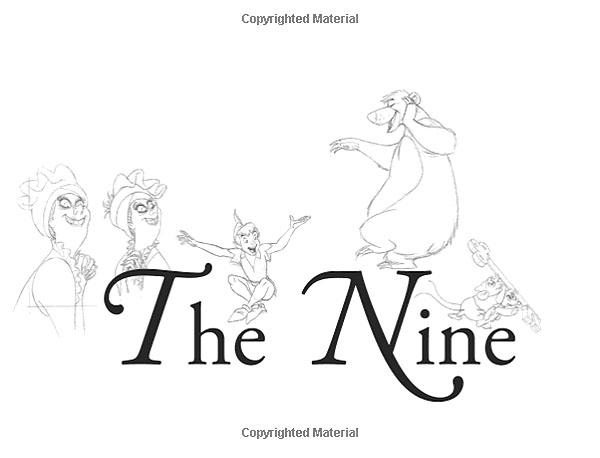 نه پیرمرد دیزنی : تکنیک های طراحی کاراکتر از زبان بهترین های والت دیزنی