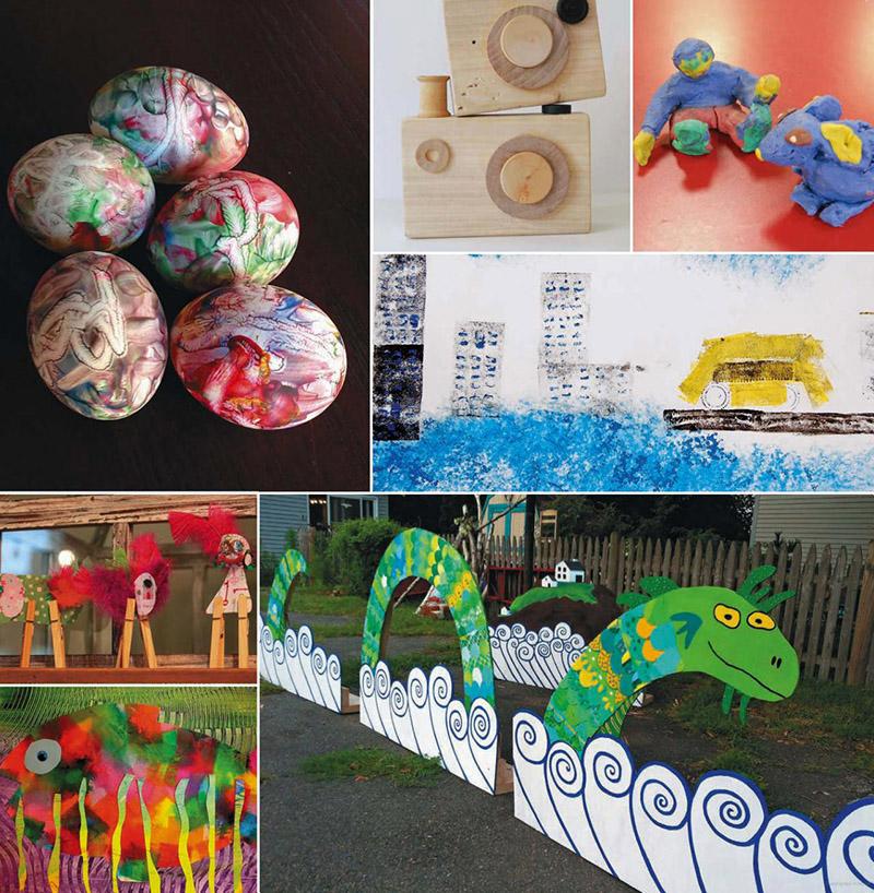 پانصد ایده هنری خلاقانه از کودکان