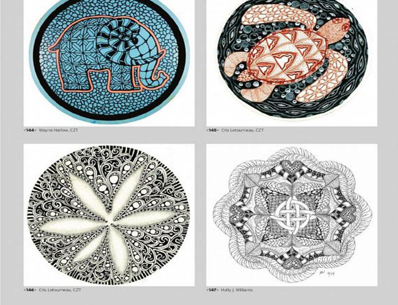 پانصد طرح تصویرسازی از بافت های پیچیده