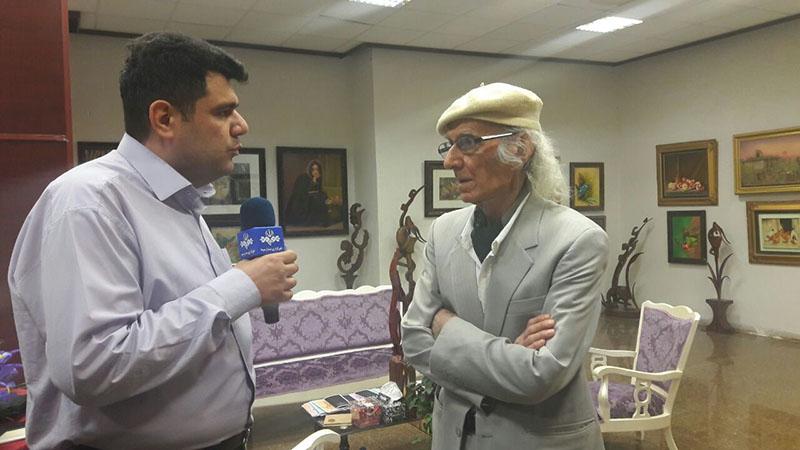 همایش بزرگداشت بنیانگذار هنرهای تجسمی شهرستان دماوند