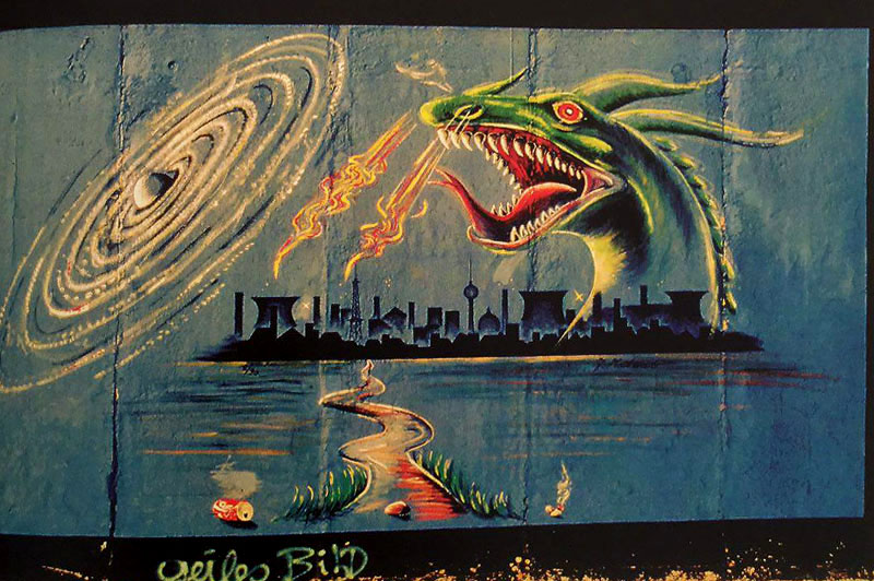 وال آرت : هنر گرافیتی در برلین