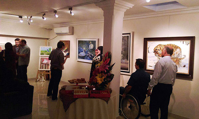 راز عشق و نمایشگاه آثار نقاشی زهره اعتضاد السلطنه